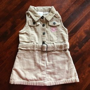 Carter's Dresses - Carters corduroy dress
